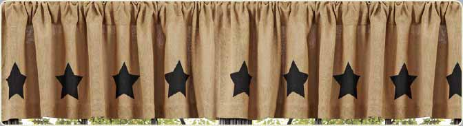 Country Valance Products - The Weed Patch Country Store
